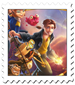 Treasure Planet Cover Stamp