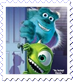 Monsters Inc Cover Stamp by Maleficent84
