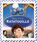 Ratatouille Cover Stamp