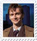 Doctor Who: Tenth Doctor Stamp by Maleficent84