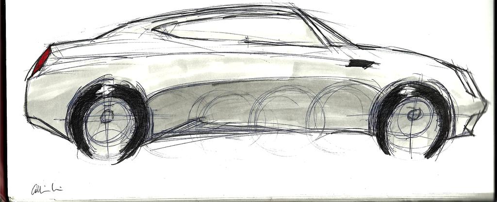 Chrystler 300 Concept Sketch by cjlashawn