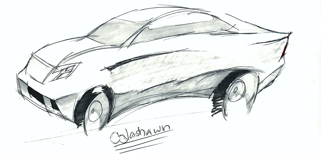 Coupe Sketch 1 by cjlashawn
