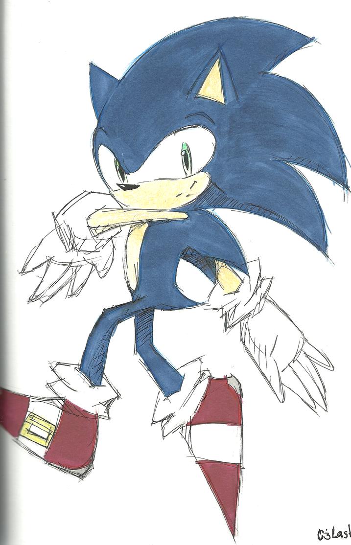 Sonic the Hedgehog by cjlashawn