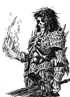 Sketchy Darkwraith by TheIvoryFalcon