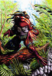Amphibian combatant