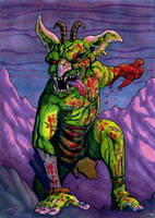 Bloodthirsty Hobgoblin by TheIvoryFalcon