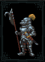 Pixel Knight by TheIvoryFalcon