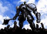 Dark Souls Bosses 7/25 - Iron Golem