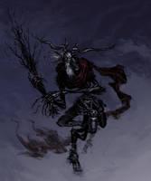 Krampus, Christmas Demon by TheIvoryFalcon