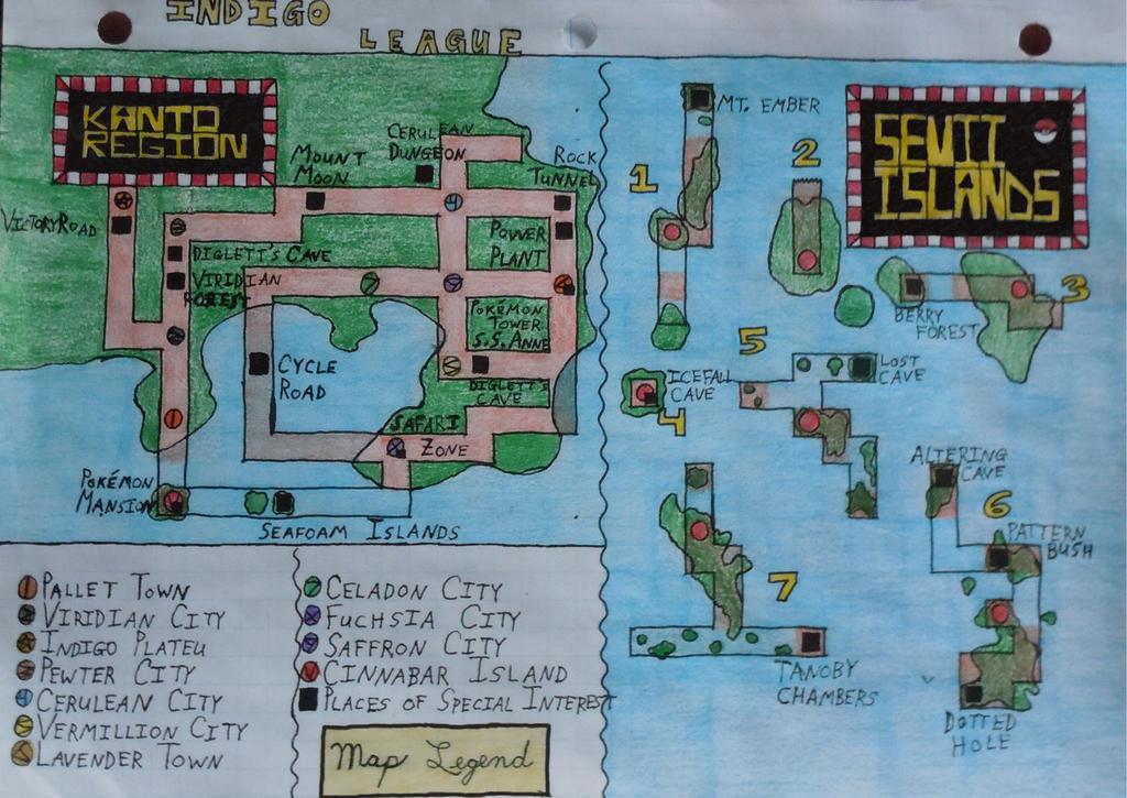 Pokemon Moon Map Island Numbers