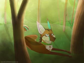 Forest by AzureTheCat808