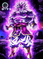 Broly GOD full power 001 by diegoku92