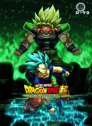 Goku vs Broly by diegoku92