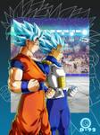 Goku,Vegeta 001