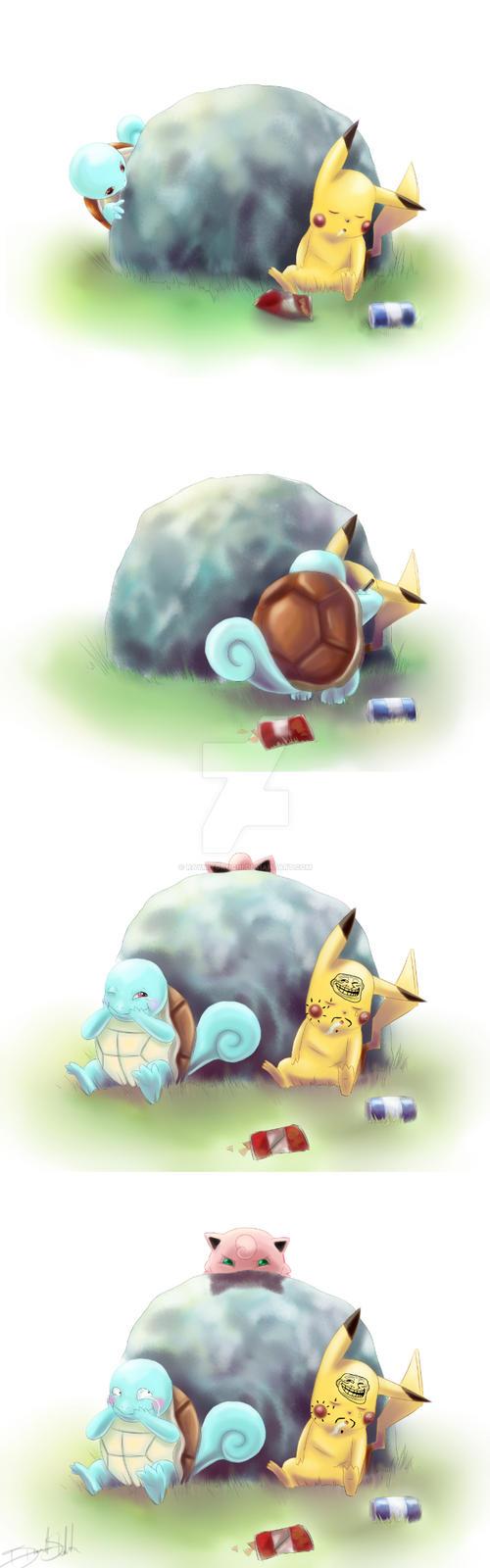 Silly Poke' Antics by raymitorochi