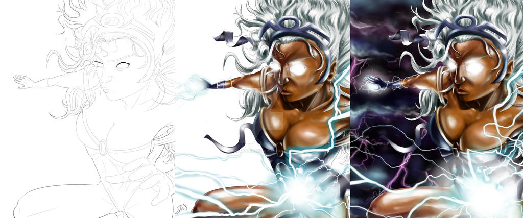 Storm Progress by raymitorochi