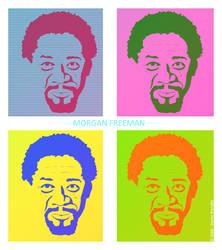 Morgan Freeman Pop Vector