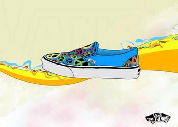 Peaceful Vans Color Shoe