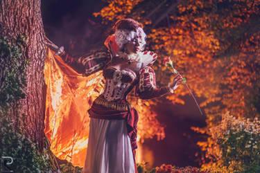 Queen heart Sakizou by Mimigyaru
