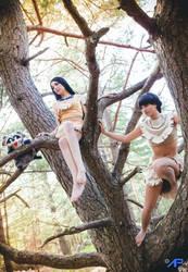 Pocahontas and Nakoma