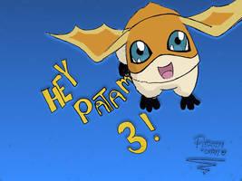 Hey Patamon 3 by patamon-chan