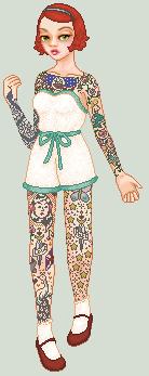 Tattooed Lady by Achordingly