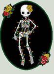 Light Spangled Skeleton