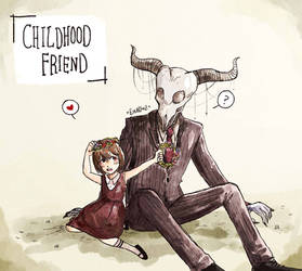 Childhood friend by Ghosticalz