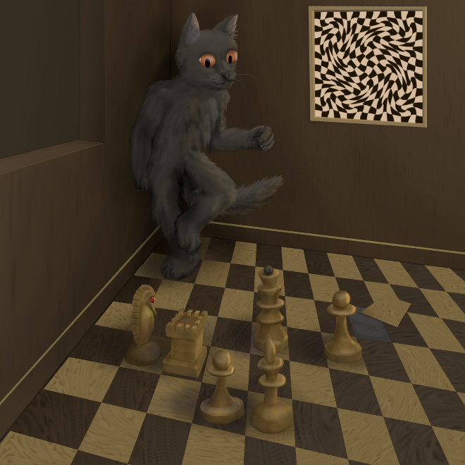 The Cat on the Chessboard by 7Lithium