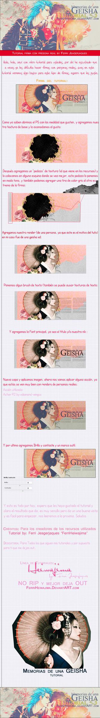 Tutorial Memorias Geisha by FerriHeiwajima