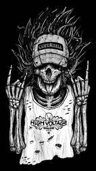 High voltage merch by GrimsoulArt