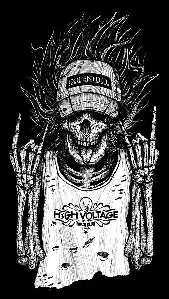 High voltage merch by DariusM1993