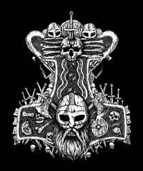 Thors Hammer Mjolnir by GrimsoulArt