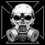 Gas mask skull by GrimsoulArt