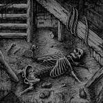 Stranguliatorius art skeleton in the basement by GrimsoulArt