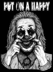 Joker 2019 Fanart - Put on a happy face