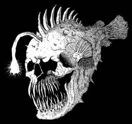 Skull Angler fish