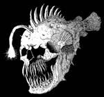 Skull Angler fish by GrimsoulArt
