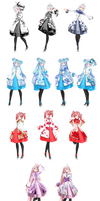 TDA China Lolita Dress [Pack]