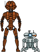 HK-47 and T3-M4 by SpectorKnight