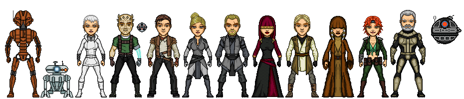 The Ebon Hawk Crew 2 by SpectorKnight