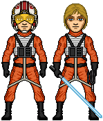 Luke Skywalker - X-Wing Pilot by SpectorKnight