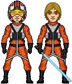 Luke Skywalker - X-Wing Pilot by SpectorKnight