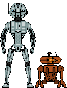 KOTOR GB: HK-43 and T4-M7 by SpectorKnight