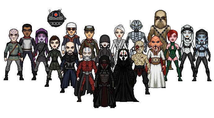 KOTOR Villains by SpectorKnight
