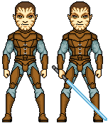 KOTOR GB - Jhan by SpectorKnight