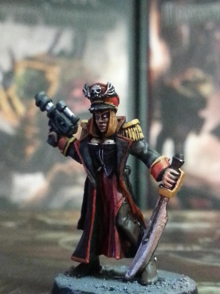 Lady-Commissar Alisia Ghastergeist by SpectorKnight