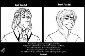 Meet Jack and Frank. by neriahnee