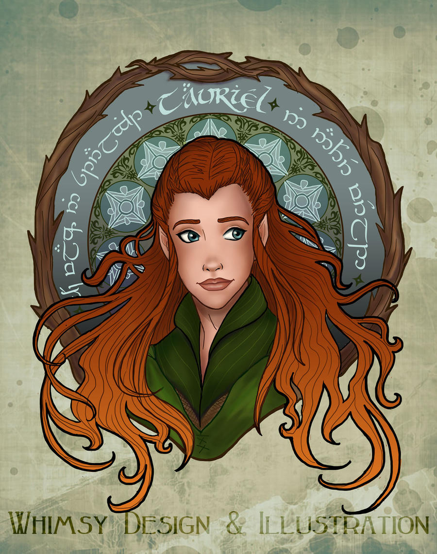 Daughter of Mirkwood by miss-lys