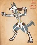 Lucario Skeleton v2